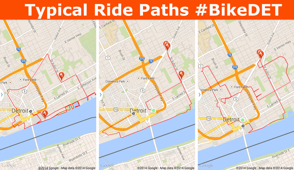 Ride Paths Bike DET