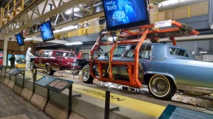Auto Assembly Line at Streets of Detroit at Detroit Historical Museum