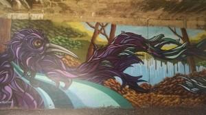 Graffiti along the Dequindre Cut