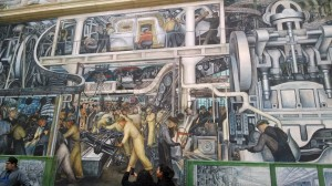 Diego Rivera's 'Detroit Industry, or Man and Machine'